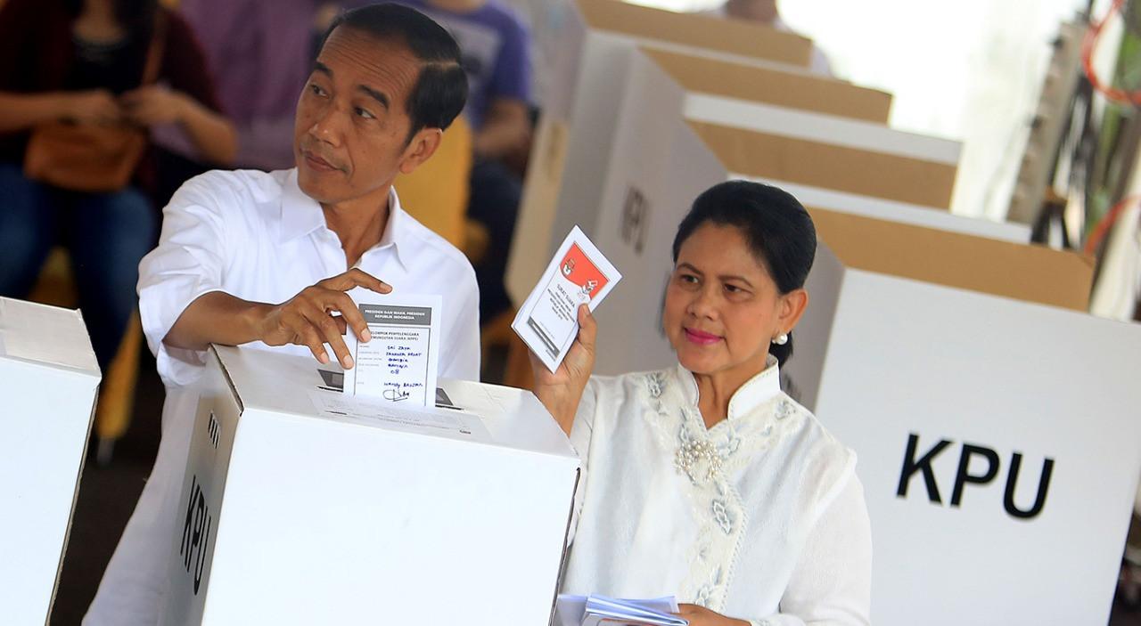 Jokowi takes lead against Prabowo