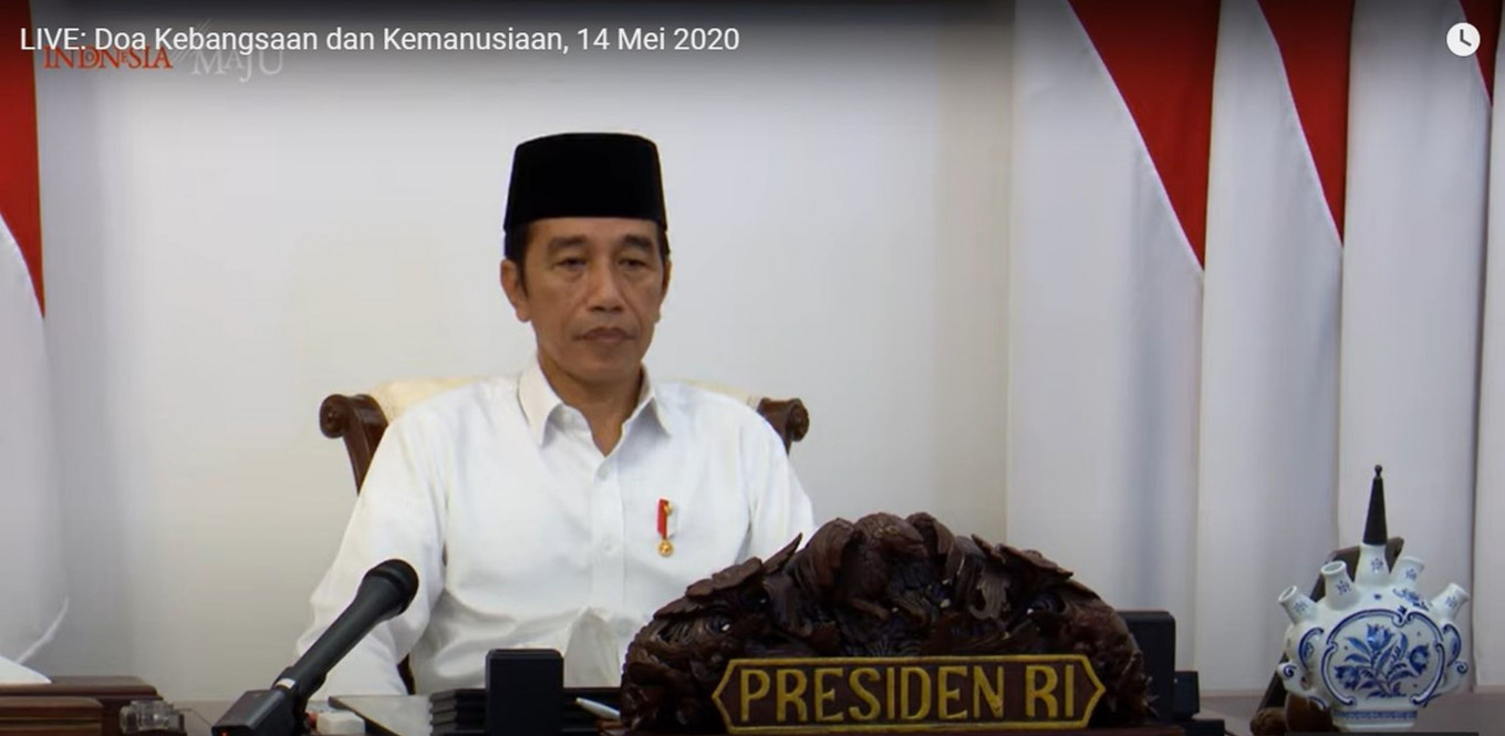 PSBB yet to be relaxed: President Jokowi
