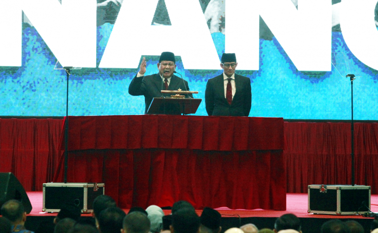 Indonesia will triumph, Prabowo declares