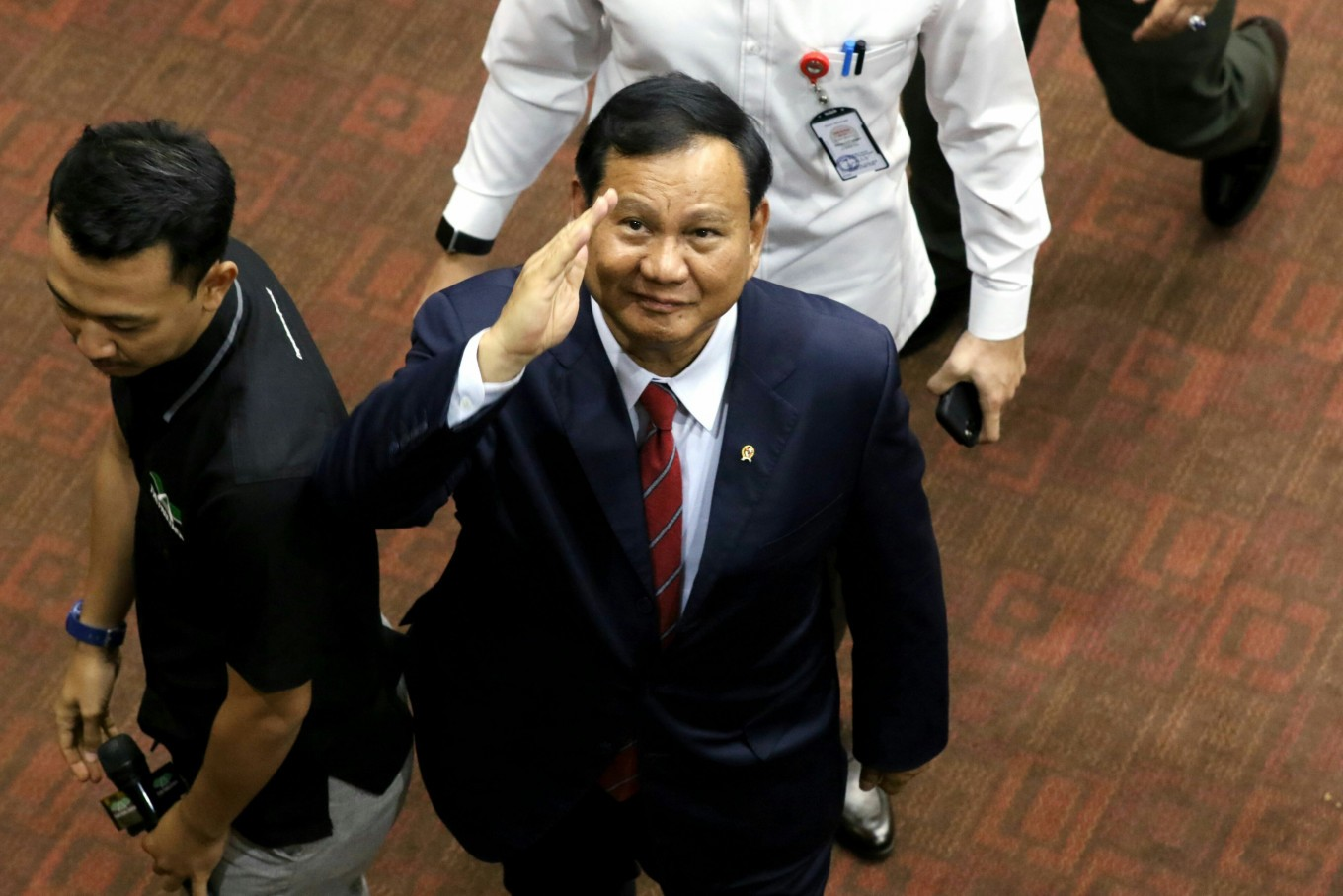 Prabowo promises rapid development of domestic defense industry over 5 years