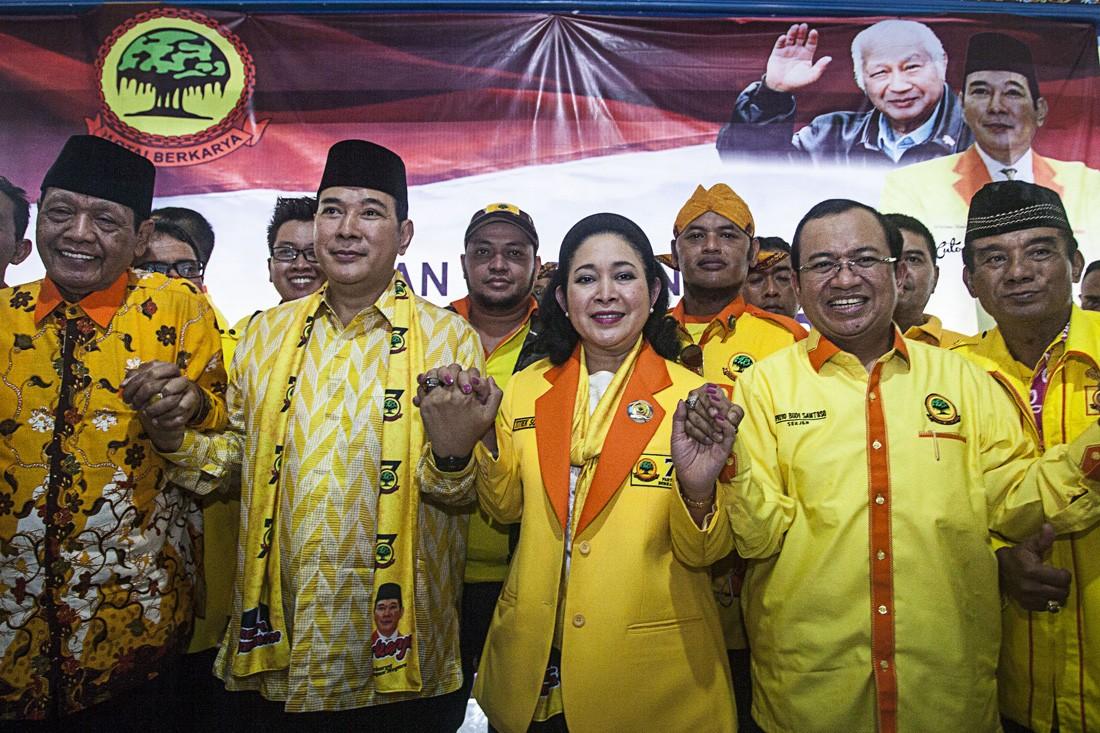 Soeharto family fails to obtain House seats