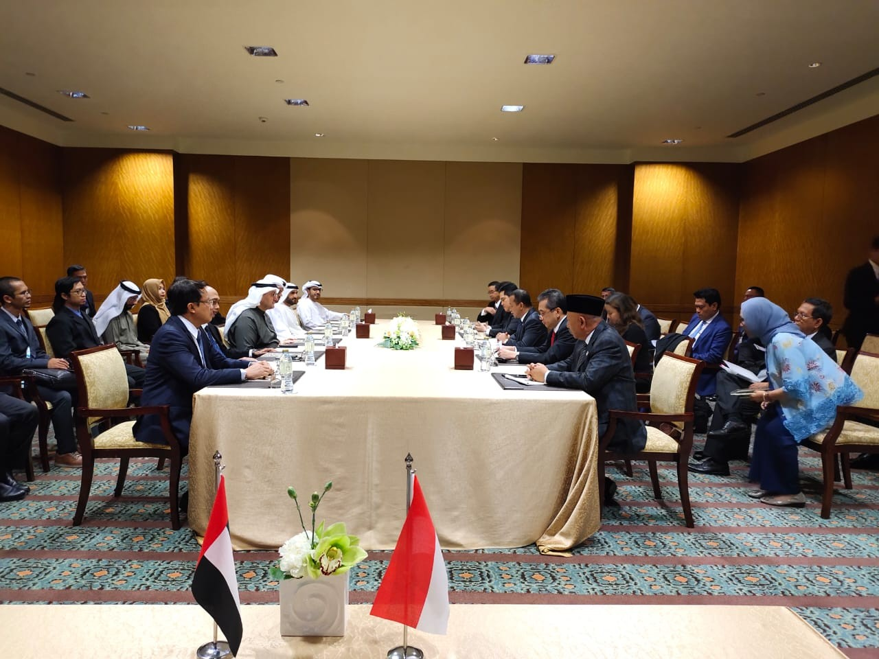 Jokowi to secure US$ 22.8 billion investment from UAE