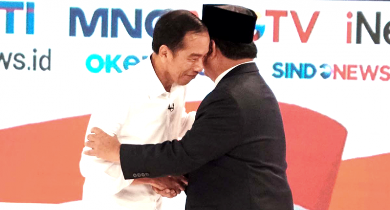 Jokowi stands his ground