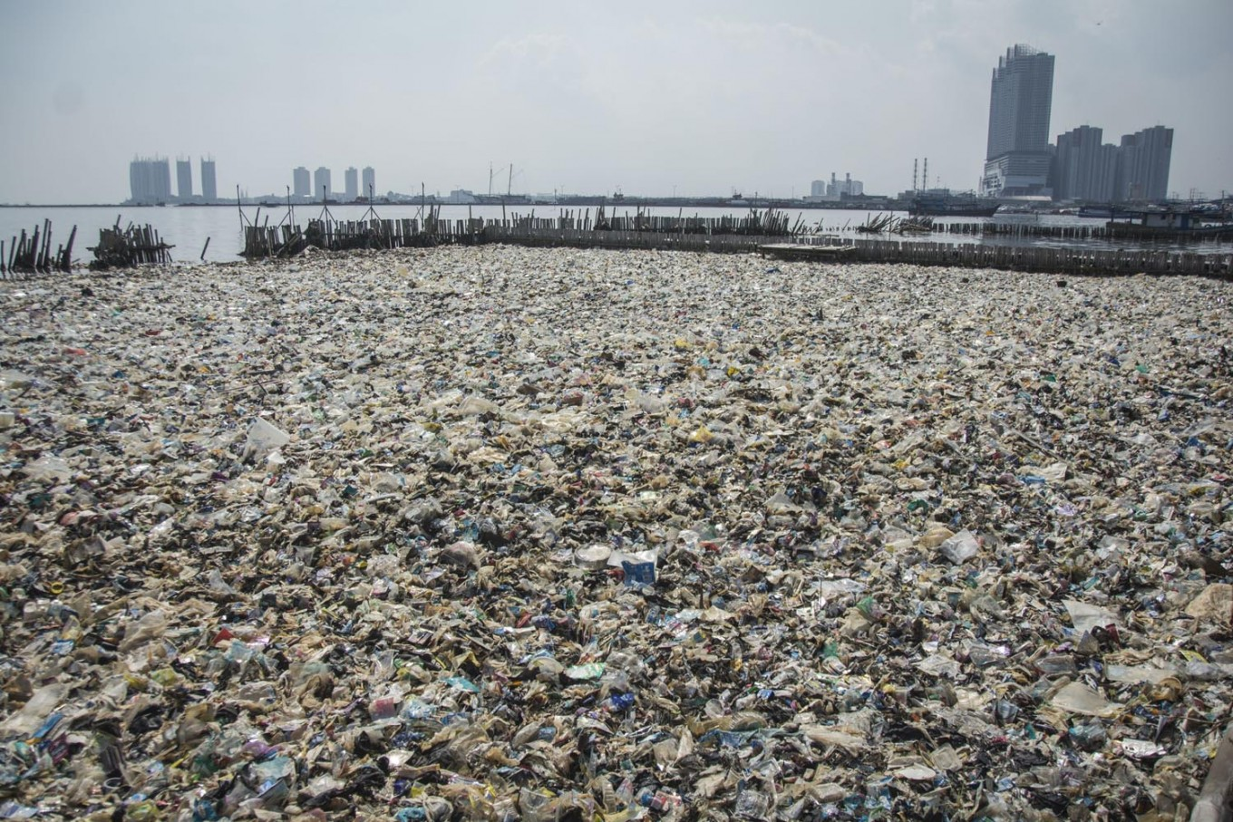 Plastic waste management questioned